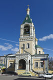 Церковь Илии пророк Obydennyi Стоковое Фото