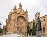 Церковь и монастырь Сан Esteban Стоковое Изображение RF