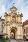 Церковь и монастырь святой троицы, Вильнюс, Lituania стоковая фотография rf