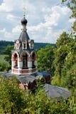 Церковь и обитель в монастыре Savvino-Storozhevsky Стоковая Фотография