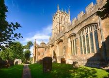 Церковь и погост в откалывать Campden стоковые изображения rf