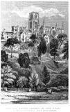 Церковь и собор стоковое изображение rf