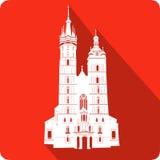 Церковь, иллюстрация Стоковое Фото