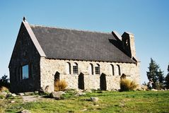 Церковь камня Tekapo Стоковые Изображения