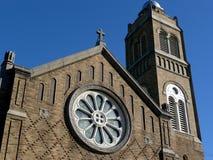 церковь кирпича стоковое фото