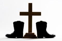 Церковь ковбоя Стоковая Фотография RF