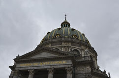 Церковь Копенгаген Frederik стоковая фотография rf