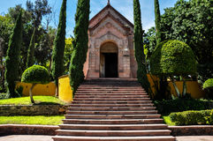 Церковь колокола в Пуэбла, Мексике Стоковая Фотография