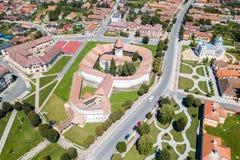 Церковь-крепость Prejmer, графство Brasov, Трансильвания, Румыния стоковая фотография