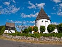 церковь круглая Стоковое Изображение