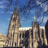 церковь кёльна Стоковое Фото