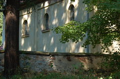 церковь кладбища старая Стоковые Фотографии RF