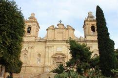 Церковь Лоренса Святого в Vittoriosa стоковое фото