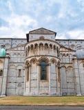 Церковь Лукки, Италии Duomo di Сан Martino в старой части этого города в Италии Стоковые Изображения