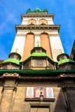Церковь, Львов, Украина Стоковые Изображения