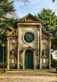 Церковь лютеранина в садах дворца Cristal Стоковые Изображения RF