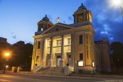 Церковь лютеранина Христоса в St Paul стоковая фотография