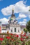 Церковь матери бога & x22; Успокойте мое Sorrows& x22; в Саратове Конструкция была выполнена в 1906 Россия Стоковые Изображения