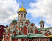 Церковь матери Казани бога, Стоковое Фото