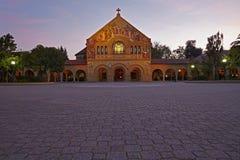 Церковь мемориала Стэнфорда Стоковое Изображение