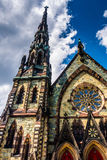 Церковь места Mount Vernon объединенная методист в Балтиморе, Marylan Стоковые Изображения RF