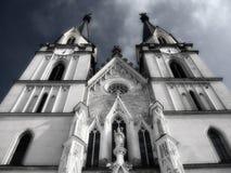 церковь мистическая стоковые изображения rf
