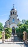 Церковь нашей дамы знака, церковь знака Вильнюс, Lithua Стоковое Фото