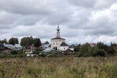 Церковь нашей дамы Tikhvin Suzdal Стоковое Изображение RF