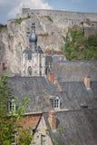 Церковь нашей дамы в Dinat, Бельгии стоковое изображение rf