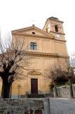 Церковь нашей дамы Принимать в рае Романо Trevignano Стоковые Фото