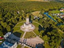 Церковь нашей дамы церков Znamenskaya знака в Dubrovits Стоковое Фото