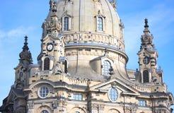 Церковь нашей дамы - I - Дрезден - Германия стоковая фотография rf