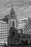 Церковь наших дамы и St Nicholas Стоковые Изображения RF