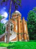 Церковь на дворце Snagov Стоковая Фотография