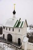 Церковь над въездными ворота Стоковое Изображение RF