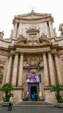 Церковь на квадрате Marcello в Риме - Аркаде di S Marcello Стоковые Изображения RF
