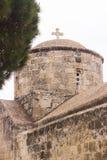 Церковь на Кипре стоковое фото