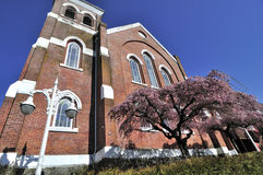 Церковь на красивейший весенний день Стоковые Изображения RF