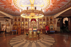 Церковь на крови в почетности стоковое изображение