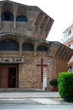 Церковь на Порту Ercole (Гроссето) Стоковое Изображение