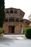 Церковь на Порту Ercole (Гроссето) Стоковое Изображение RF