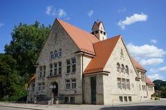 Церковь на улице Стоковое Изображение RF