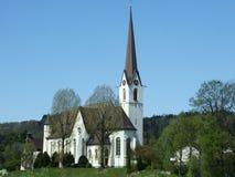 Церковь на холме стоковые изображения rf