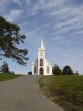 Церковь на холме Стоковые Изображения