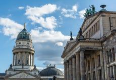 Церковь на Gendarmen Markt, Берлине Стоковые Изображения