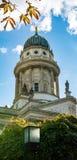 Церковь на Gendarmen Markt, Берлине Стоковые Фото