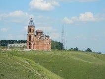 церковь незаконченная Стоковое фото RF
