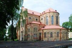 Церковь непорочного зачатия благословленной девой марии Стоковая Фотография