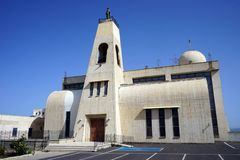 церковь новая Стоковые Фото