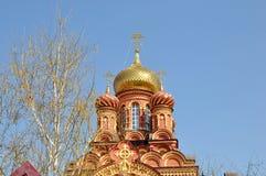 церковь новая Стоковые Изображения